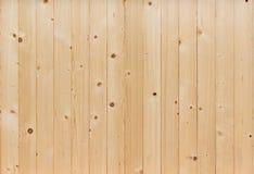 Pared de madera de pino Imágenes de archivo libres de regalías