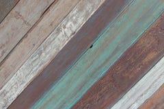 Pared de madera del color fotografía de archivo libre de regalías