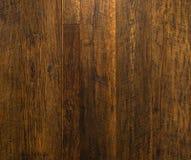 Pared de madera del oro Fotografía de archivo