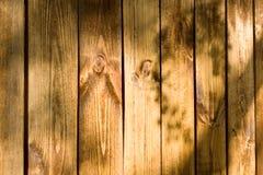 Pared de madera del tablón Fotografía de archivo libre de regalías