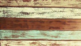 Pared de madera del vintage Fotografía de archivo