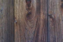 Pared de madera japonesa tradicional natural vieja de la textura del pino marrón Fotografía de archivo libre de regalías