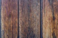 Pared de madera japonesa tradicional natural vieja de la textura del pino marrón Foto de archivo libre de regalías