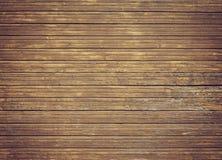 Pared de madera marrón vieja Foto de archivo libre de regalías