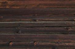 Pared de madera natural Fotografía de archivo libre de regalías