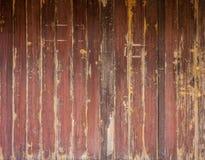 Pared de madera para el fondo y la textura Foto de archivo libre de regalías