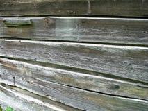 Pared de madera rústica Fotografía de archivo