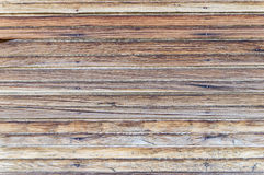 Pared de madera resistida vieja Imagen de archivo