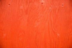 Pared de madera roja imágenes de archivo libres de regalías