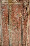 Pared de madera saltada del fondo de la textura Fotos de archivo libres de regalías