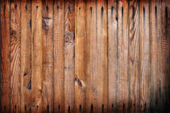 Pared de madera sucia fotografía de archivo