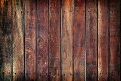 Pared de madera sucia Foto de archivo libre de regalías
