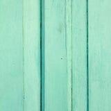 Pared de madera verde retra del vintage Fotografía de archivo
