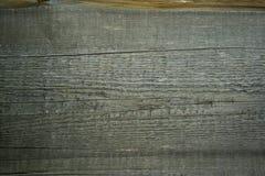Pared de madera vieja Foto de archivo libre de regalías