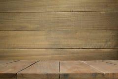 Pared de madera vieja con los tablones de madera viejos Fotografía de archivo