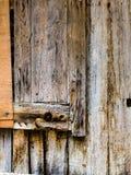 Pared de madera vieja, fondo Imágenes de archivo libres de regalías