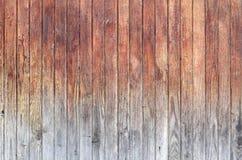 Pared de madera vieja y resistida del tablón Foto de archivo