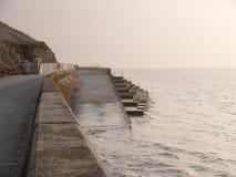 Pared de mar Foto de archivo libre de regalías