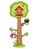 Pared de parachoques del metro de los niños stock de ilustración