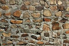 Pared de piedra áspera Imagen de archivo