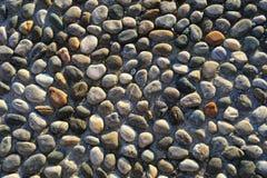 Pared de piedra Fotografía de archivo