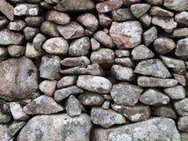 Pared de piedra Foto de archivo libre de regalías