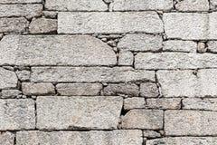 Pared de piedra al aire libre del detalle Fotografía de archivo
