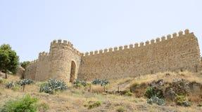 Pared de piedra andaluz Imagenes de archivo