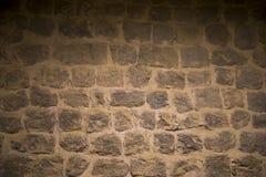 Pared de piedra antigua Fotografía de archivo
