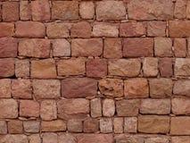 Pared de piedra antigua Foto de archivo libre de regalías