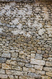Pared de piedra antigua Imagenes de archivo