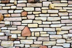 Pared de piedra antigua a utilizar como fondo Fotos de archivo