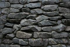 Pared de piedra con textura aguda Imagen de archivo