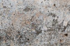 Pared de piedra concreta agrietada envejecida del yeso Fotos de archivo libres de regalías