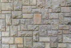 Pared de piedra cortada vieja, textura hermosa del fondo fotos de archivo