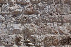 Pared de piedra de Jerusalén Fotografía de archivo