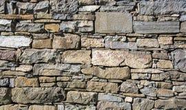 Pared de piedra de la albañilería Fotografía de archivo libre de regalías