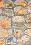 Pared de piedra de la aspereza antigua Imagen de archivo