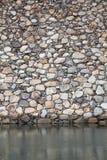 Pared de piedra de la fortaleza Imágenes de archivo libres de regalías