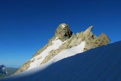 Pared de piedra de la montaña Imagenes de archivo