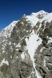 Pared de piedra de la montaña Fotos de archivo