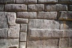 Pared de piedra de la roca Foto de archivo libre de regalías