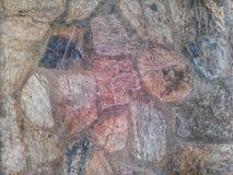Pared de piedra de la textura Foto de archivo libre de regalías
