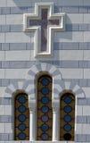 Pared de piedra de la ventana Fotografía de archivo libre de regalías