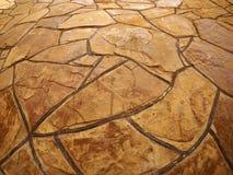 Pared de piedra decorativa Imagenes de archivo