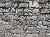 Pared de piedra del bloque Imágenes de archivo libres de regalías
