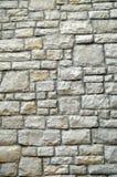 Pared de piedra del bloque Fotos de archivo