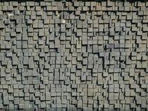 Pared de piedra del bloque Fotos de archivo libres de regalías