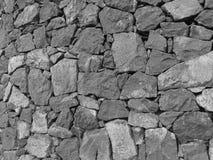 Pared de piedra del castillo Foto de archivo
