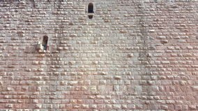 Pared de piedra del castillo Imagen de archivo